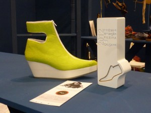 Another award in shoe design for the portuguese shoes industry
