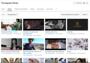 Portuguese Shoes on Youtube